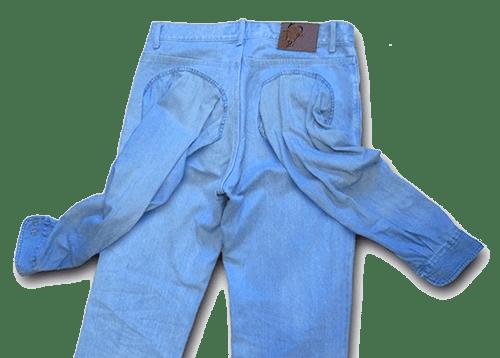 Штаны для рук из задницы